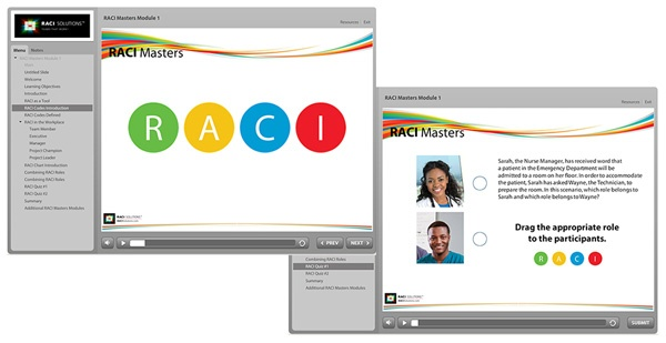 RACI Masters e-learning
